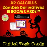 Calculus: Zombie Derivatives BOOM Cards