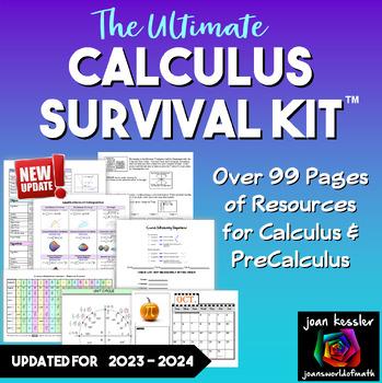 Calculus Worksheets Teachers Pay Teachers