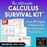 Calculus Survival Kit -  over 85 pages references for Calc