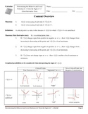 Calculus_First Derivative Test Resource and Practice