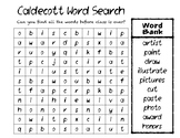 Caldecott Award Word Search