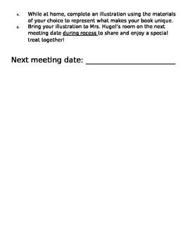 Caldecott Club Invitation