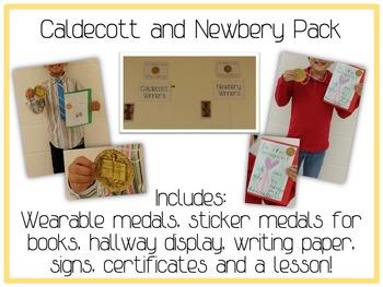 Caldecott & Newbery Award Winners Unit - Students Writing Earns Medals