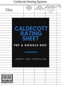 Caldecott Rating Sheet