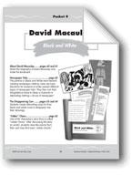 Caldecott Winners 4-6: David Macaulay: 'Black and White'