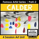 Calder Sculpture Project-Based Art Unit for Famous Artist