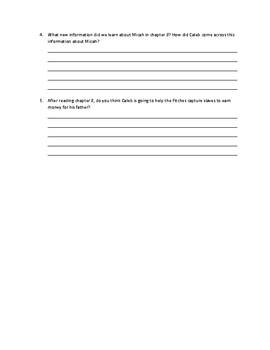 Caleb's Choice Ch.8 Response Questions