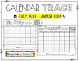 Calendar Trace 2020-2021