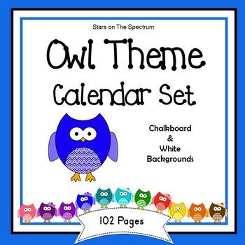 Calendar * Owl Theme Calendar