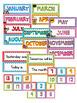 Calendar Labels - Polka Dot Theme