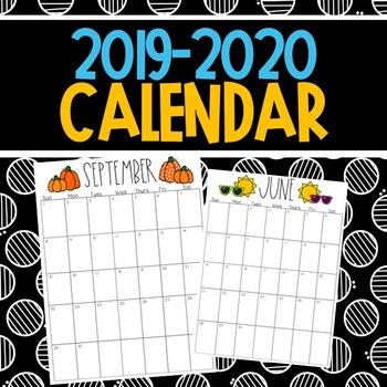 Calendar 2017-2018