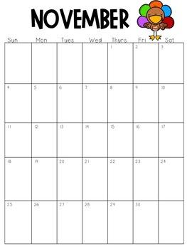 Calendar 2018-2019