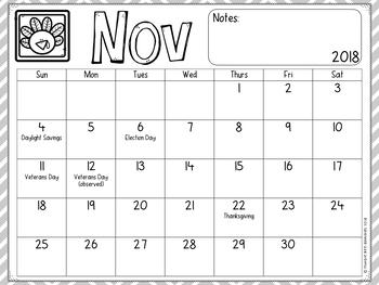 Calendar 2017-2018 School Year