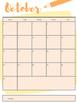Pencil Themed Calendar