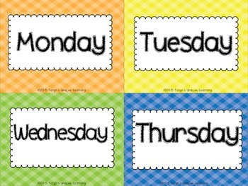 Calendar Accessories