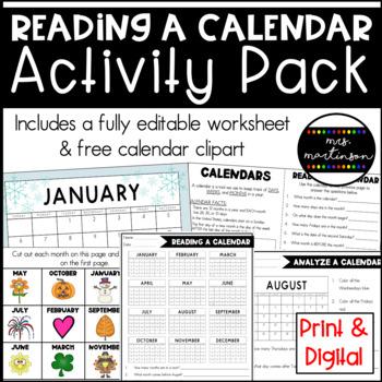 Calendar Activities