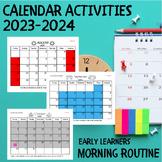 Calendar Activities 2016-2017