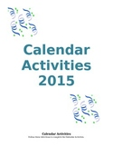 Calendar Activities 2015