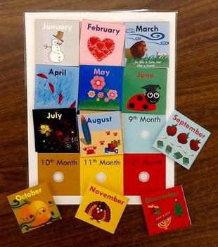 Calendar Activities Kit for 1st Grade and Self-Contained
