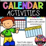 Calendar Activities (VA SOL K.8)