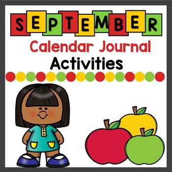 Calendar Activities for September - December