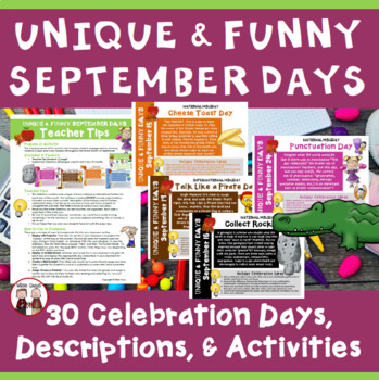Calendar Activities for the Entire School Year Super Bundle
