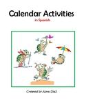 Calendar Activities in Spanish