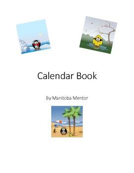 Calendar Activity Book
