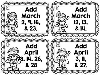 Calendar Addition