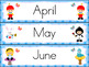 Calendar: Alice and friends: Spanish & English