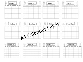 Calendar Awareness Pack for Early Learners