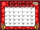 Calendar - Bear Theme - School Year Calendar