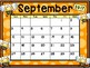 Calendar - Bee Theme - School Year Calendar