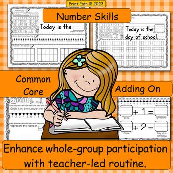 Calendar Notebook: Kindergarten & 1st Grade, 2020-2021 ...