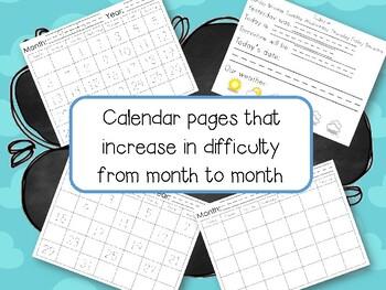 Calendar Binder Set