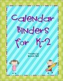 Calendar Binders