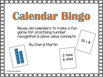 Calendar Bingo