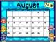 Calendar - Bird Theme - School Year Calendar 2018-19