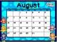 Calendar - Bird Theme - School Year Calendar