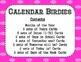 Calendar - Birdies