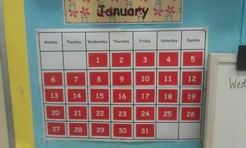 Calendar / Birthday Display
