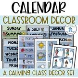 Calendar - Blue and Green Theme