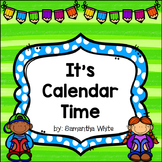 Calendar Board - An Interactive Promethean Board Flipchart