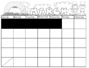 Calendar Book-March