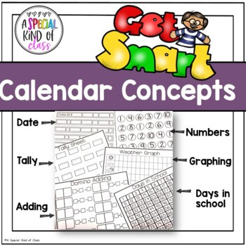 No Prep Calendar Book Printables