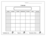 Calendar Booklet #1