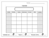 Calendar Booklet #3