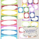 Calendar Borders Set 1
