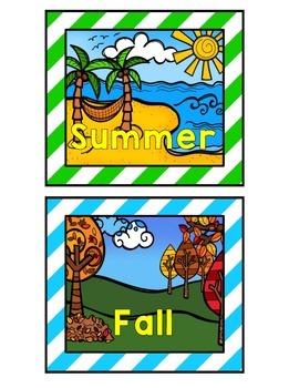 Calendar {Bright Stripes}