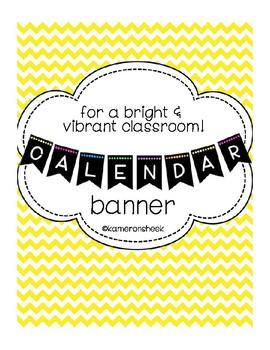 Calendar Bulletin Board Banner